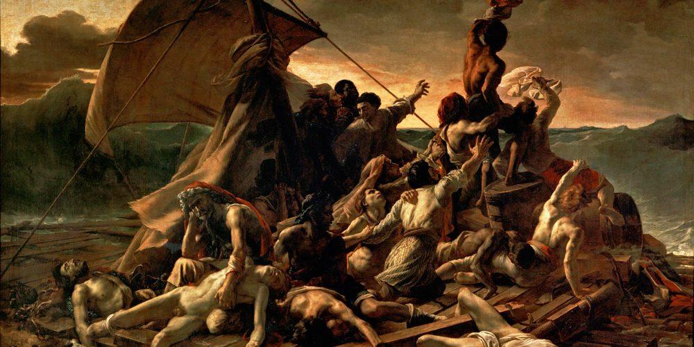JEAN_LOUIS_THEODORE_GERICAULT_-_La_Balsa_de_la_Medusa_Museo_del_Louvre_1818-19_2
