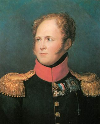 El zar Alejandro I de Rusia fue uno de los primeros caballeros de la Orden de confesión ortodoxa, nombrado por Fernando I de las Dos Sicilias