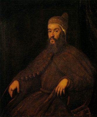 Alvise-Mocenigo, Dux de Venecia y caballero de la Orden