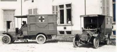 Ambulancias sufragadas por la Orden Constantiniana durante la I Guerra Mundial