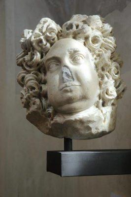Juan Andrés II Angelo Flavio Comneno, último Gran Maestre de la Casa Ángela. Busto procedente de su sepulcro en Piacenza