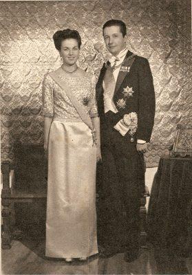 Don Carlos y Doña Ana, jóvenes Duques de Calabria