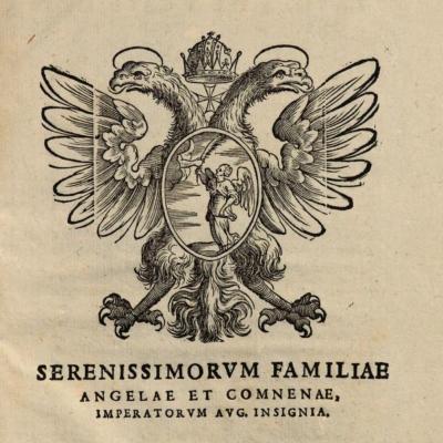 Armas de los Ángelos, Grandes Maestres de la Orden Constantiniana hasta 1697