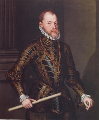 Felipe II reconoció el Gran Magisterio de los Ángelos en 1595.