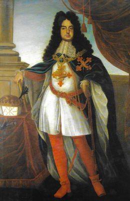 Francisco Farnesio, Duque de Parma y Piacenza, XLIV (10º) Gran Maestre de la Orden Constantiniana