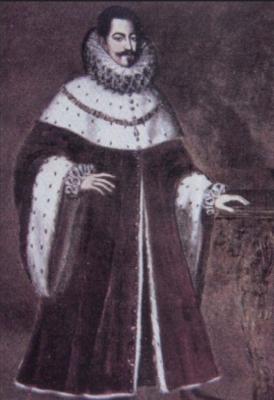 Marino II Caracciolo, príncipe de Avellino, Gran Maestre de la Orden Constantiniana