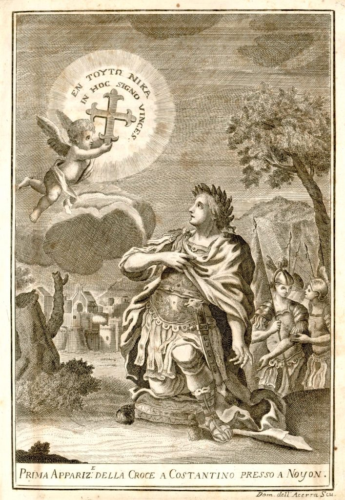 Primera visión de Constantino-[In-MUSENGA-Iconografia o sia descrizione in figura]