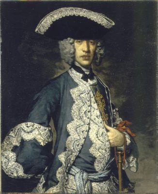 Retrato de un Caballero Constantiniano desconocido, oficial del regimiento constantiniano que combatió a los turcos en Croacia