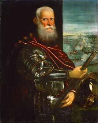 Sebastiano Venier, Dux de Venecia y caballero de la Orden