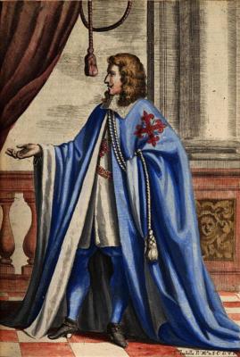 Hábito de Coro de Caballero en el siglo XVII